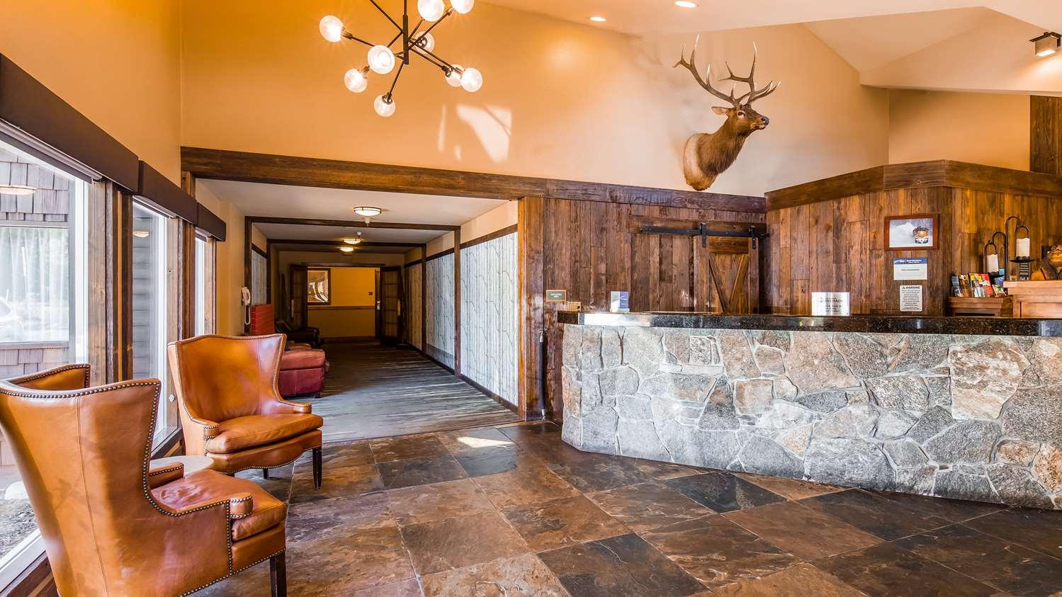 Lobby - Best Western Plus Truckee Hotel