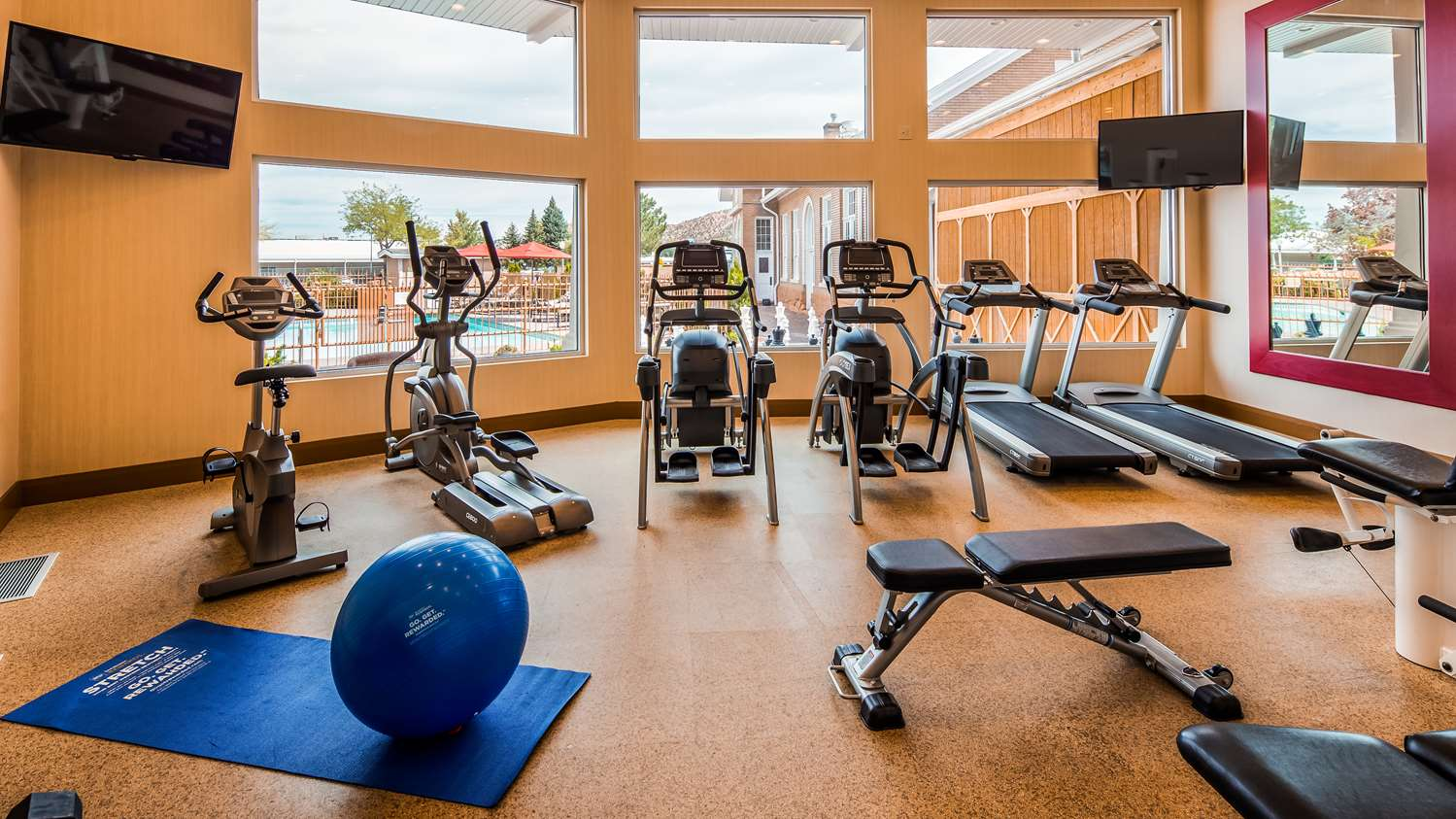 Fitness/ Exercise Room - Best Western Plus Cedar City Hotel