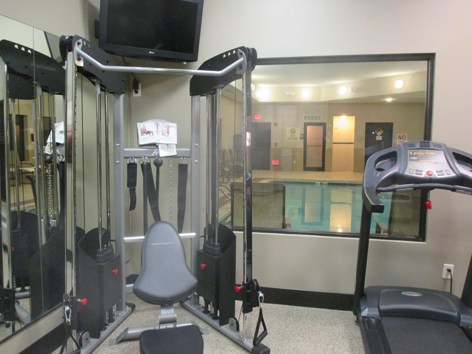 Fitness/ Exercise Room - Best Western Plus Omaha Airport Inn & Suites Carter Lake