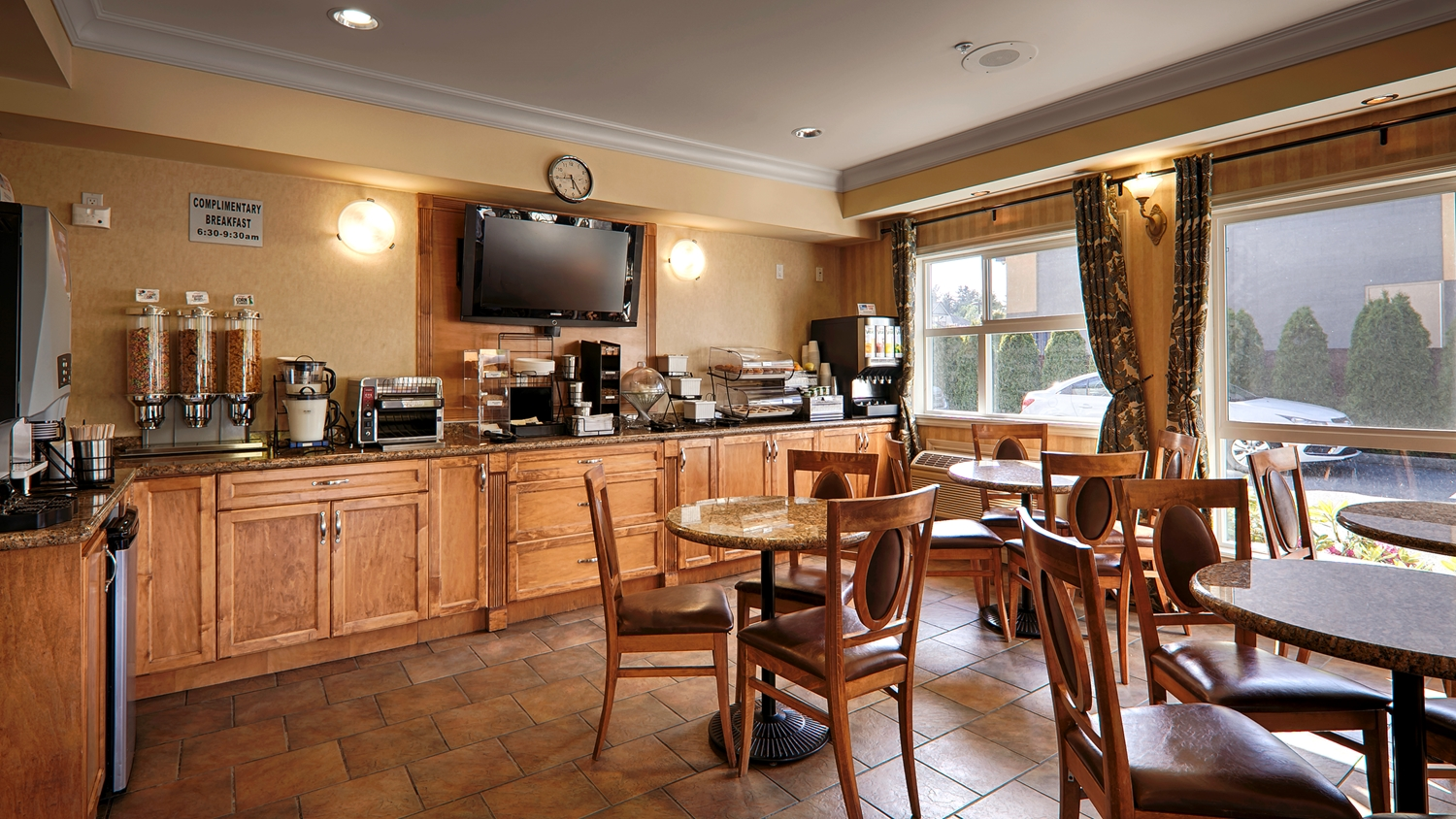 Restaurant - Best Western Peace Arch Inn Surrey
