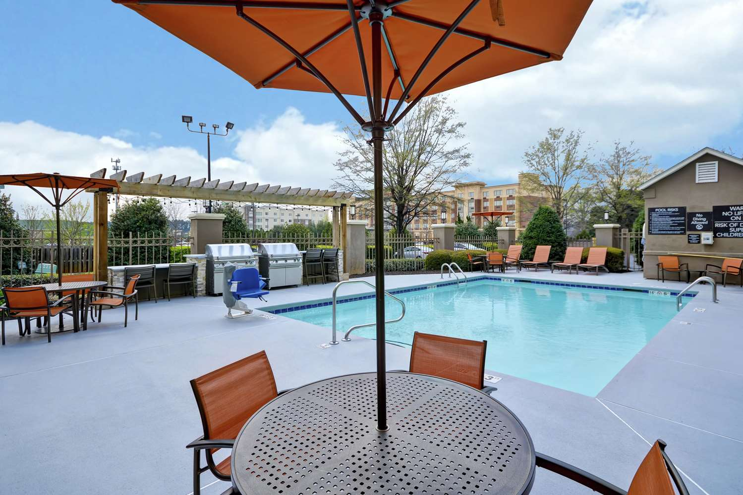 Pool - Homewood Suites by Hilton Augusta
