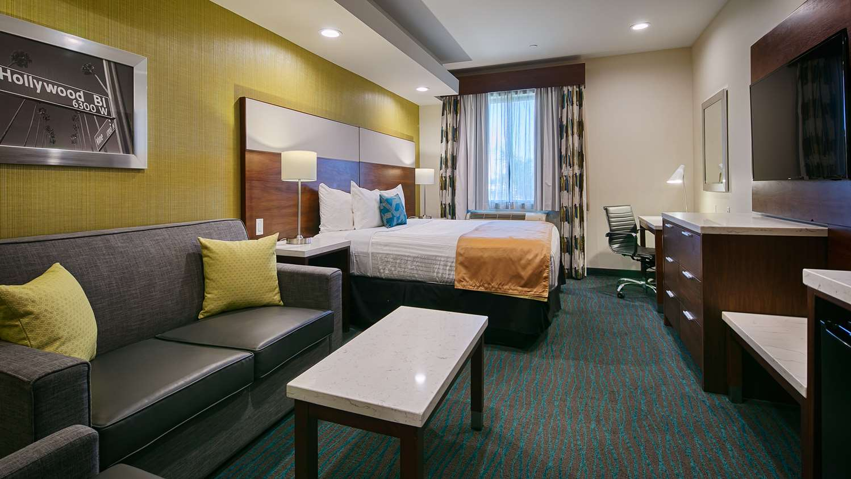 Room - Best Western Plus Gardena Inn & Suites
