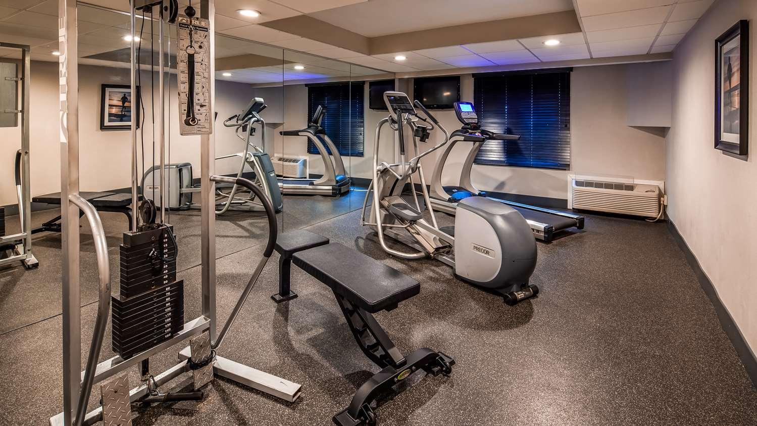 Fitness/ Exercise Room - Best Western Hartford Hotel & Suites
