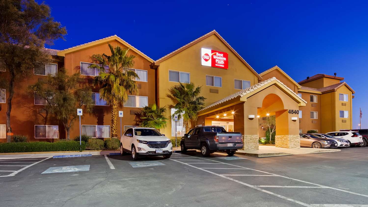 Exterior view - Best Western Plus North Las Vegas Inn & Suites