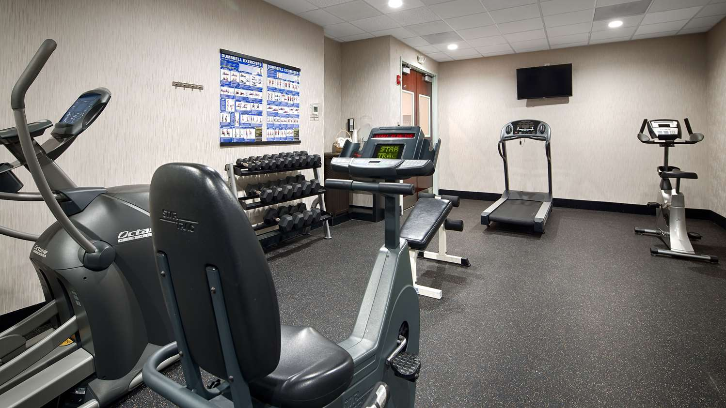 Fitness/ Exercise Room - Best Western Plus Hotel Roswell