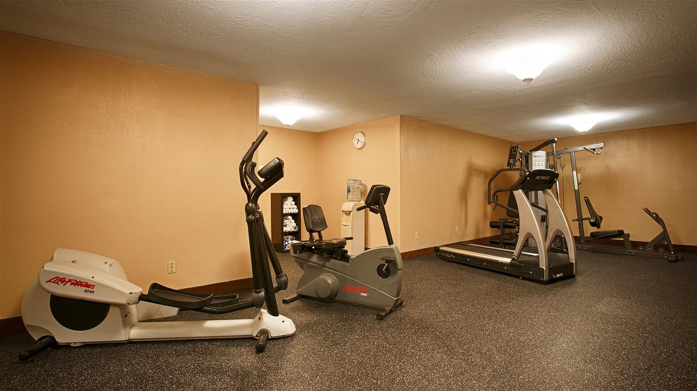 Fitness/ Exercise Room - Best Western Plus Heritage Inn Stockton