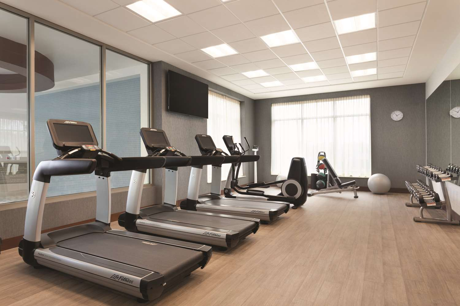 Fitness/ Exercise Room - Hyatt Place Amherst