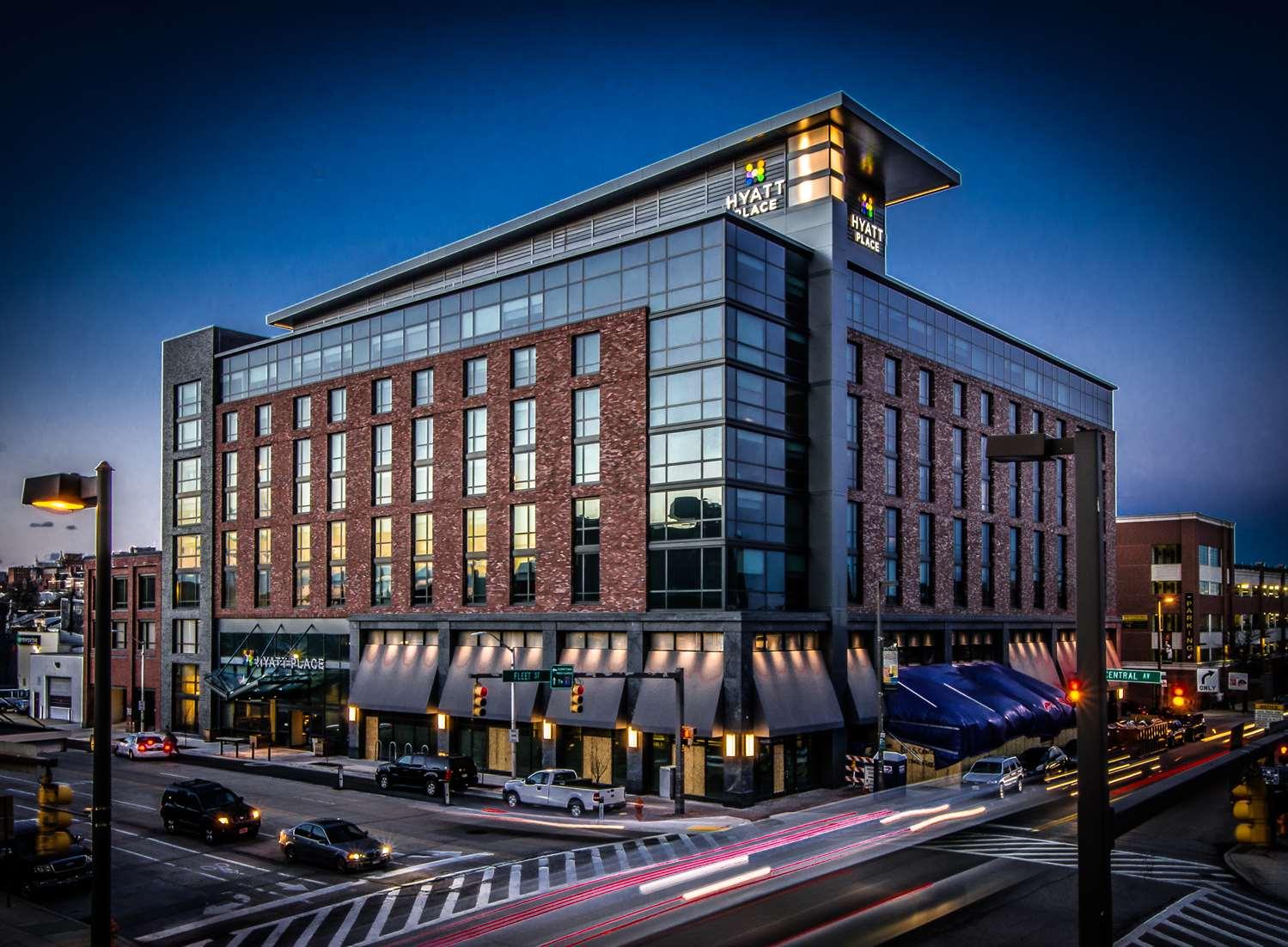 Exterior view - Hyatt Place Hotel Inner Harbor Baltimore