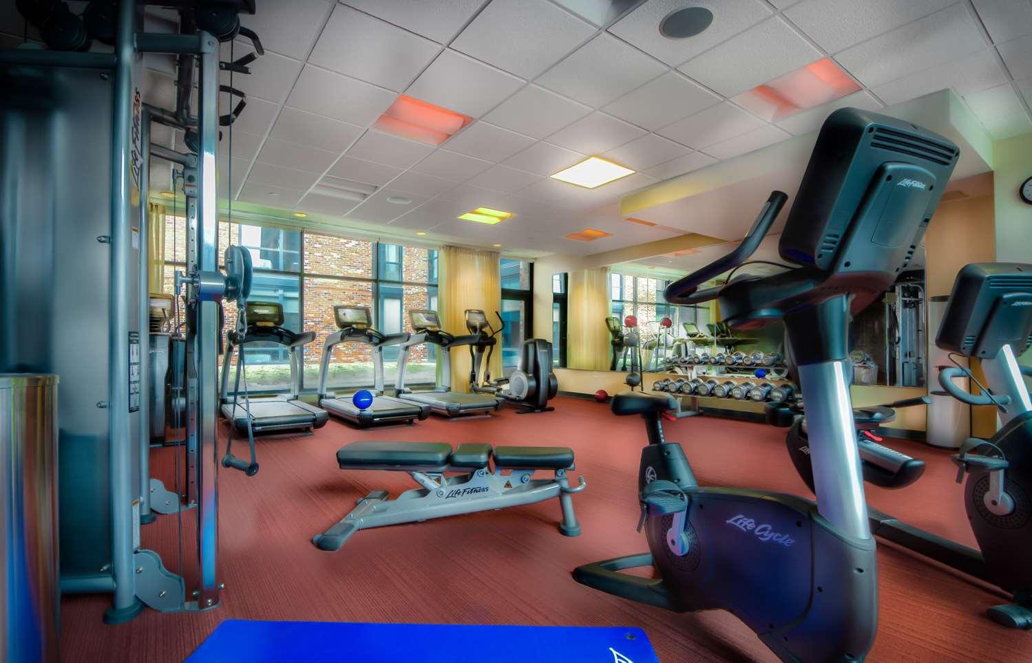 Fitness/ Exercise Room - Hyatt Place Hotel Inner Harbor Baltimore