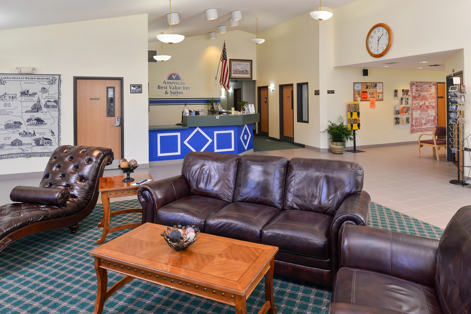 Lobby - Americas Best Value Inn Spring Valley