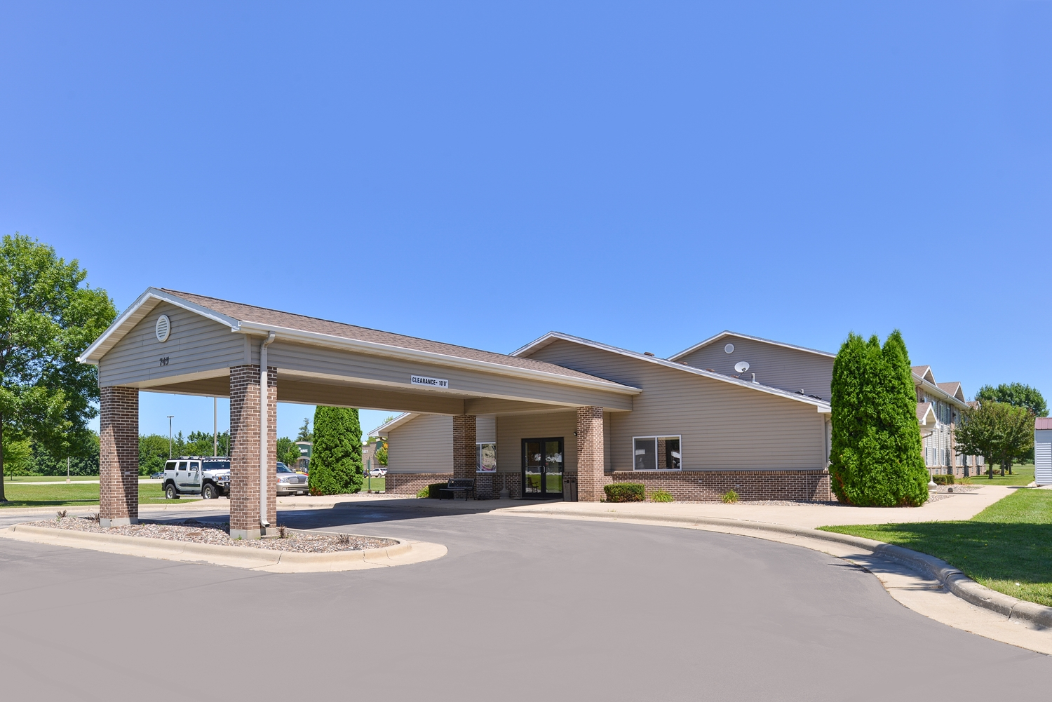 Exterior view - Americas Best Value Inn Spring Valley