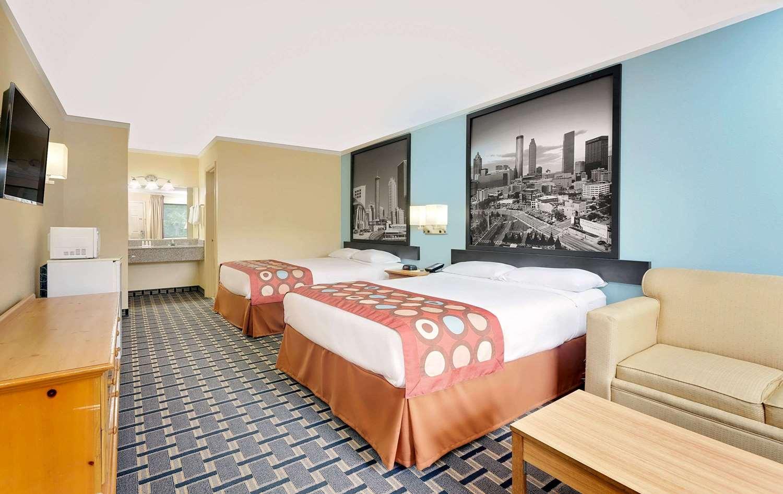 Room - Super 8 Hotel Cartersville