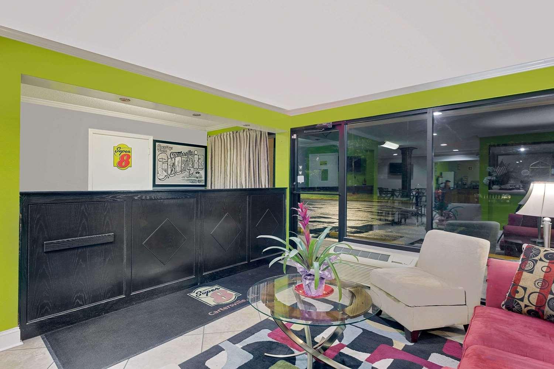 Lobby - Super 8 Hotel Cartersville