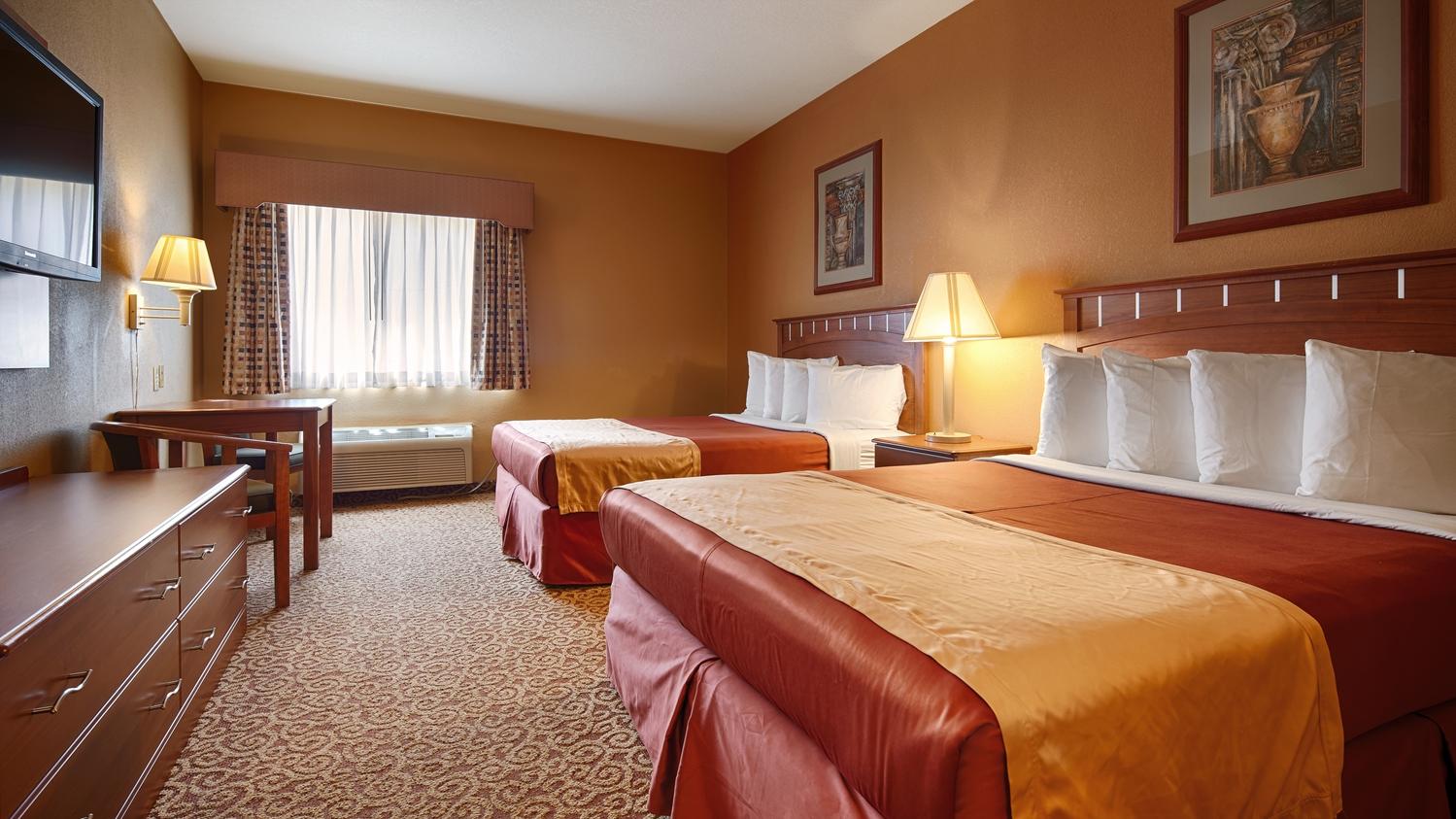 Room - Best Western Denton Inn