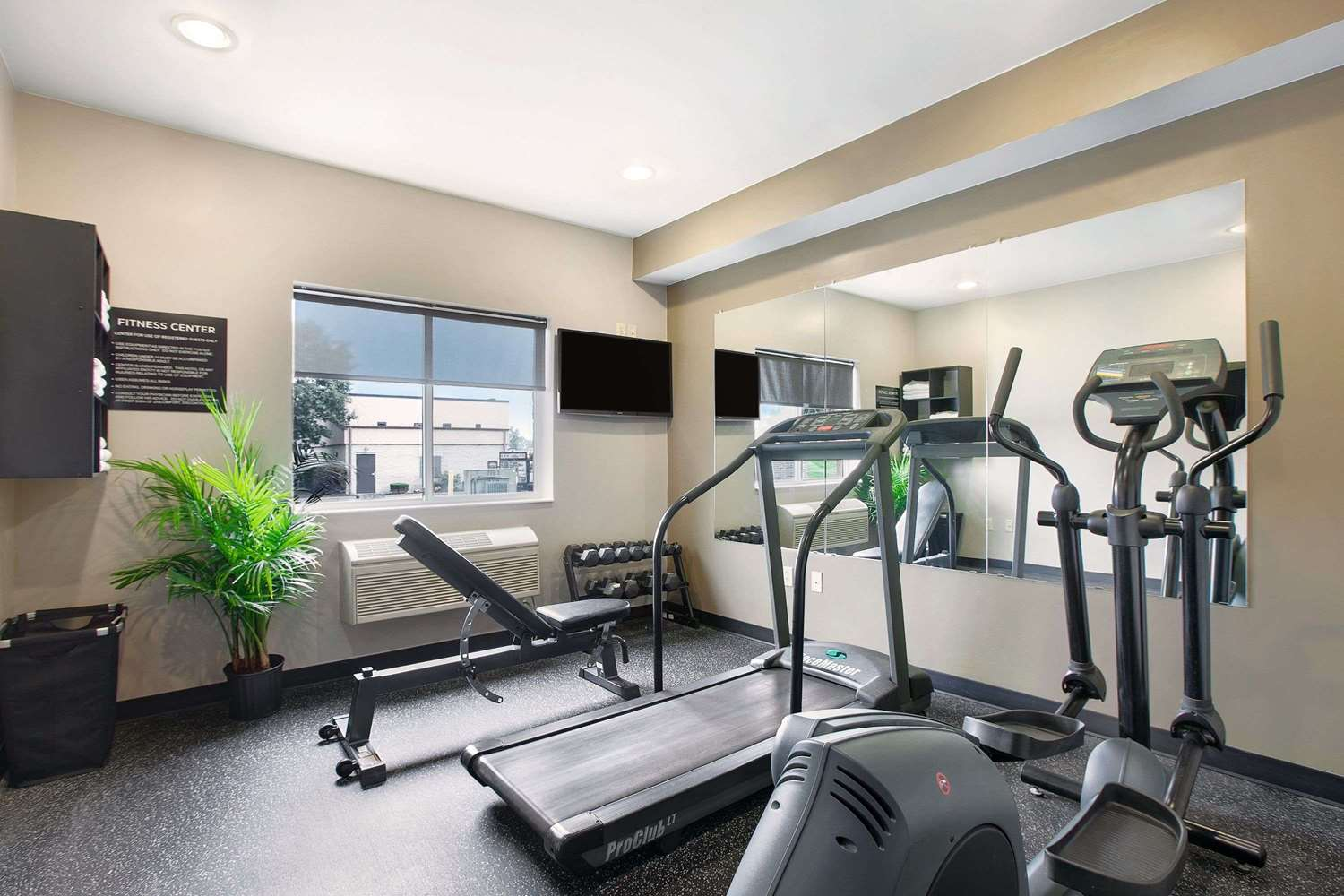 Fitness/ Exercise Room - Super 8 Hotel Uniontown