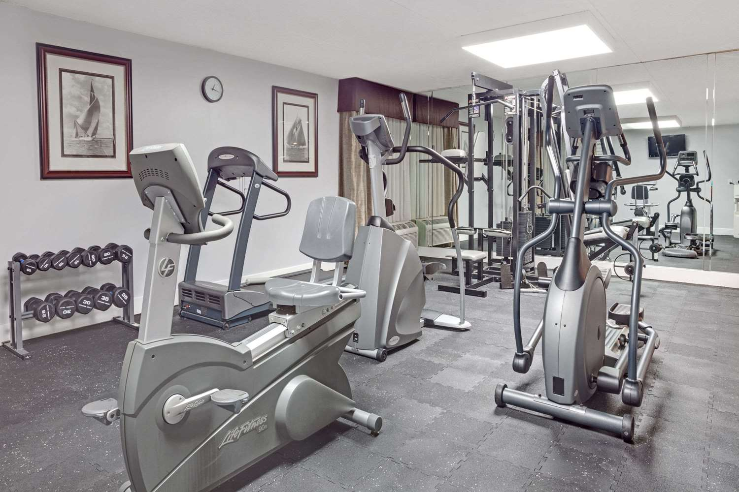Fitness/ Exercise Room - Wyndham Garden Hotel Executive Park Charlotte