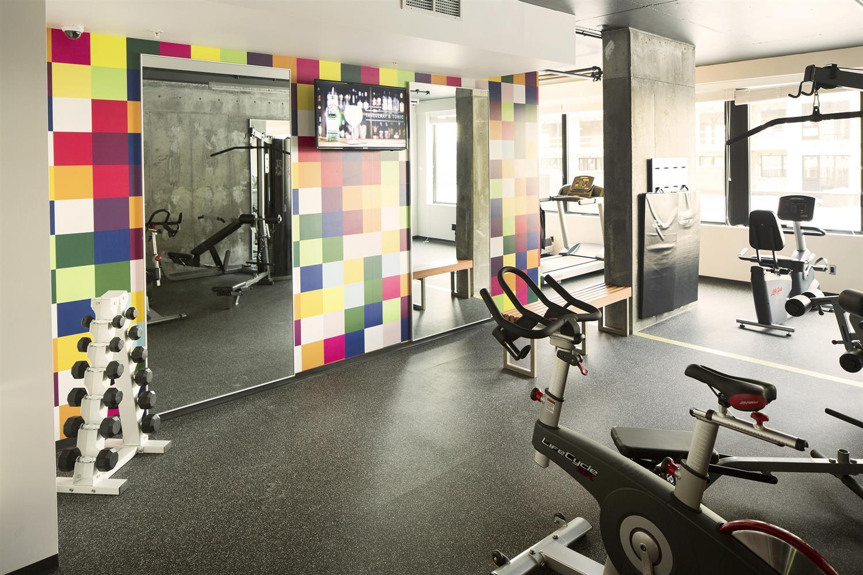 Fitness/ Exercise Room - Alt Hotel Winnipeg