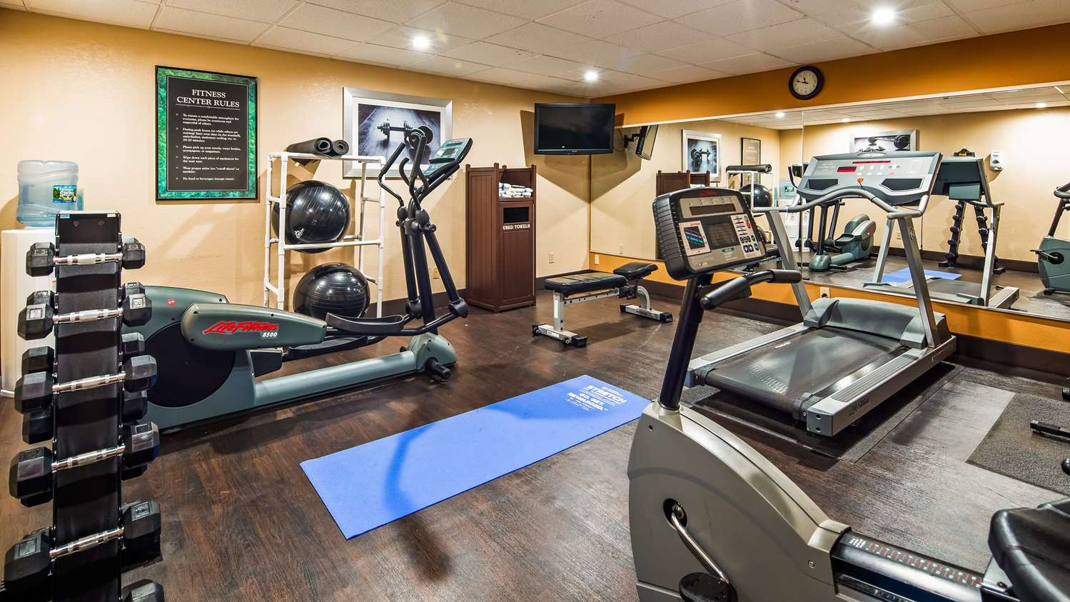 Fitness/ Exercise Room - Best Western Cape Cod Hotel Hyannis