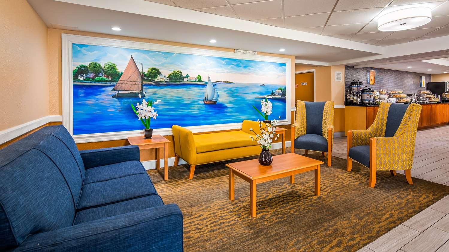 Lobby - Best Western Cape Cod Hotel Hyannis