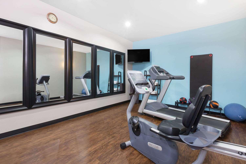 Fitness/ Exercise Room - Days Inn & Suites Madisonville