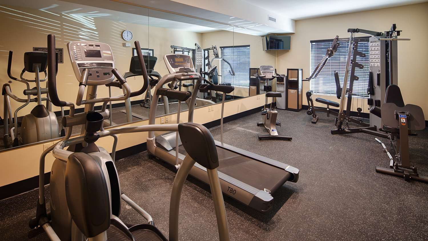 Fitness/ Exercise Room - Best Western Plus New Orleans Hotel Kenner