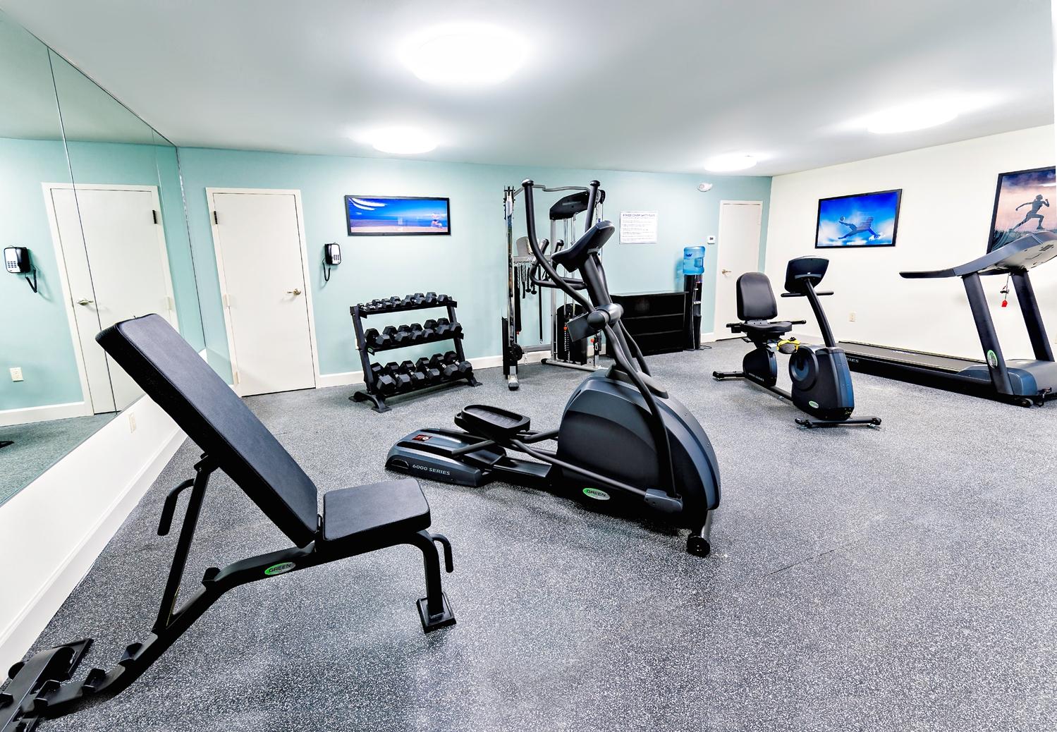 Fitness/ Exercise Room - Best Western Ocean Breeze Inn Hilton Head Island