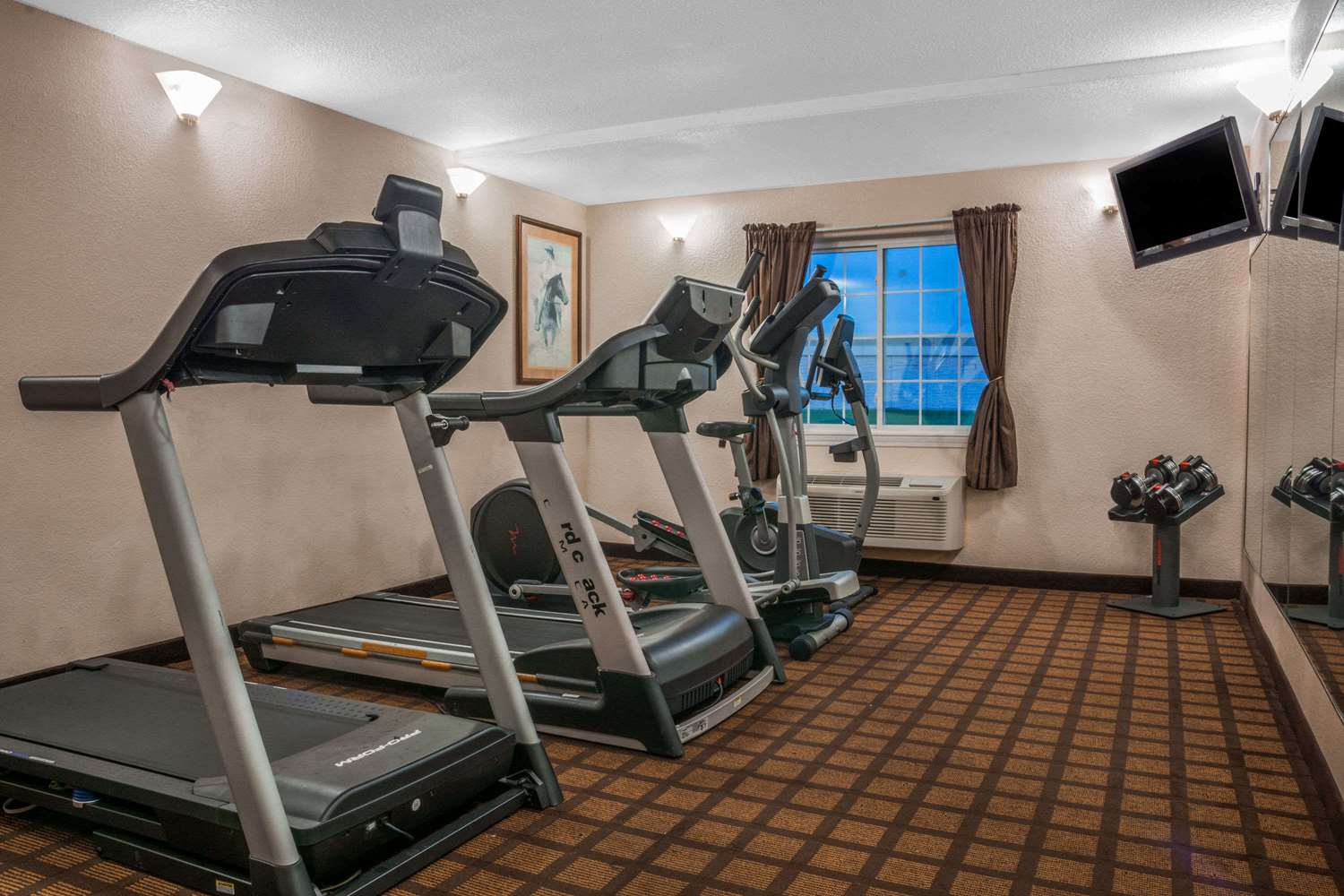 Fitness/ Exercise Room - Super 8 Hotel Beaumont