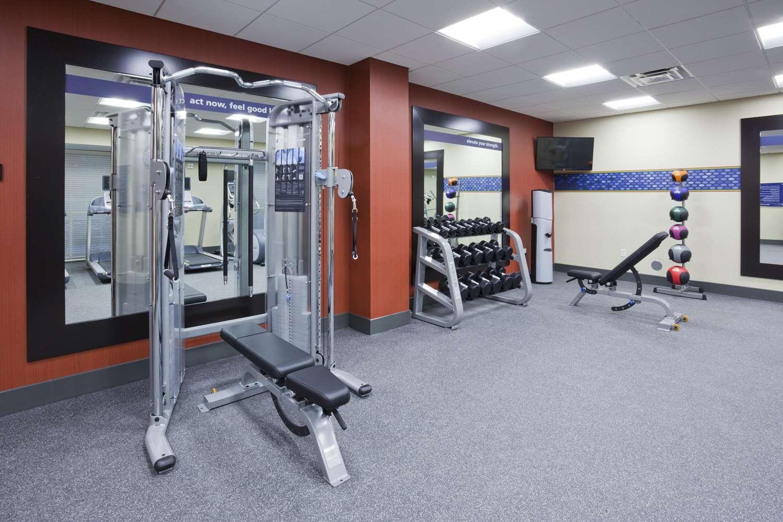 Fitness/ Exercise Room - Hampton Inn West Bloomington