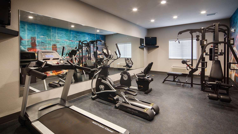 Fitness/ Exercise Room - Best Western Plus Lonestar Inn & Suites Colorado City