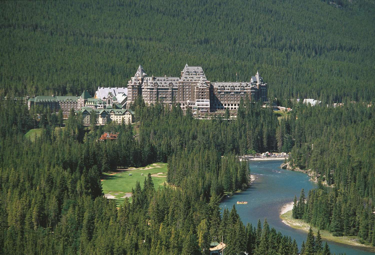 Exterior view - Fairmont Banff Springs Resort