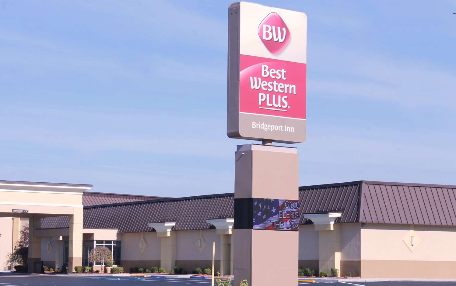 Exterior view - Best Western Plus Bridgeport Inn