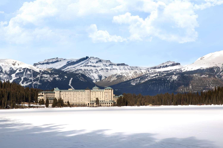 Exterior view - Fairmont Chateau Hotel Lake Louise