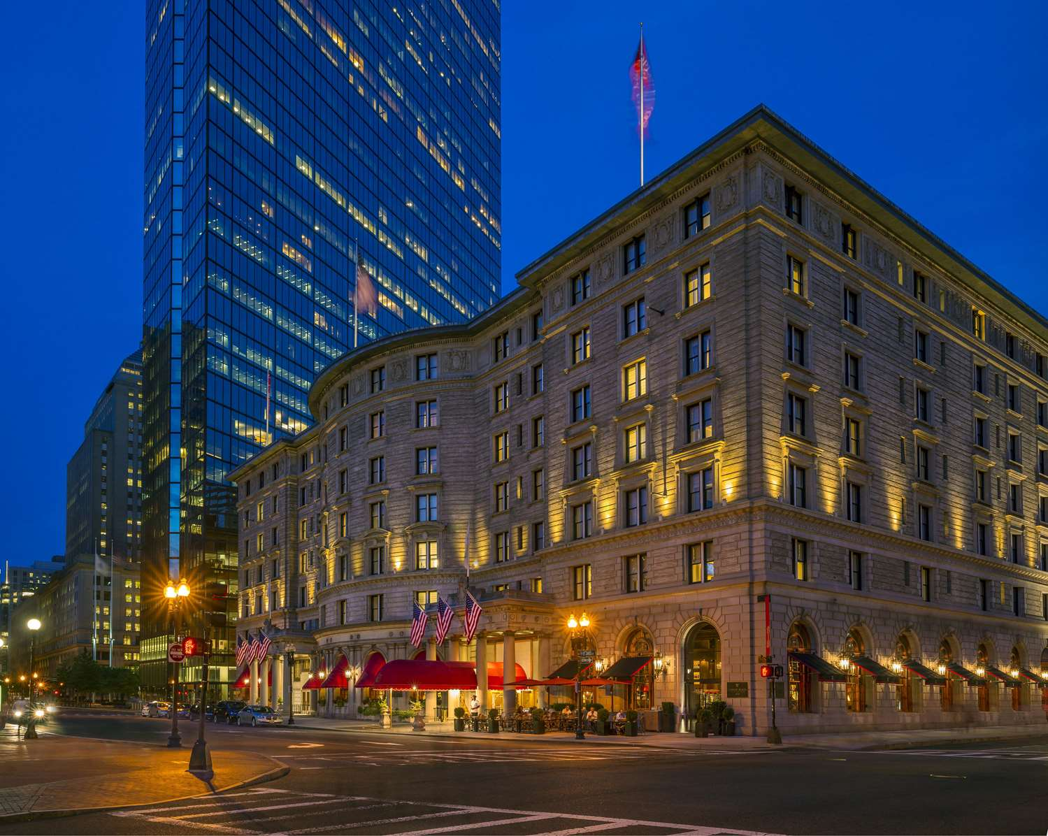 Exterior view - Fairmont Copley Plaza Hotel Boston