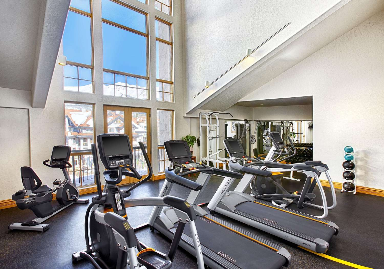 Fitness/ Exercise Room - Fairmont Franz Klammer Lodge Mountain Village