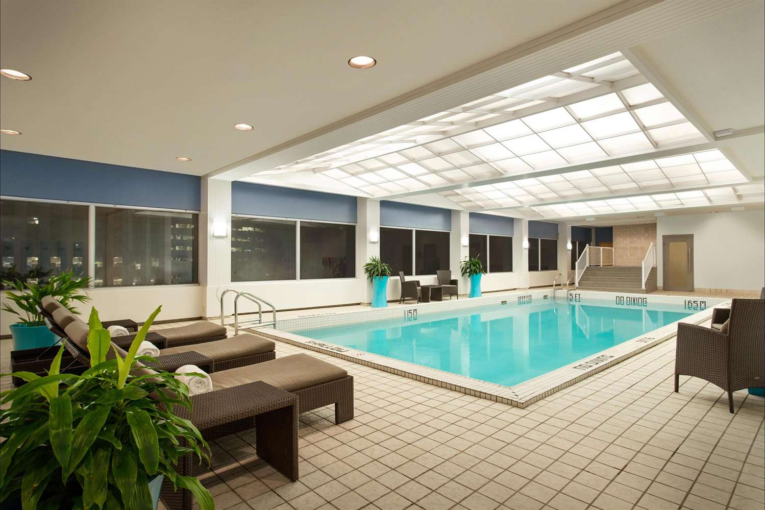 Pool - Fairmont Hotel Winnipeg