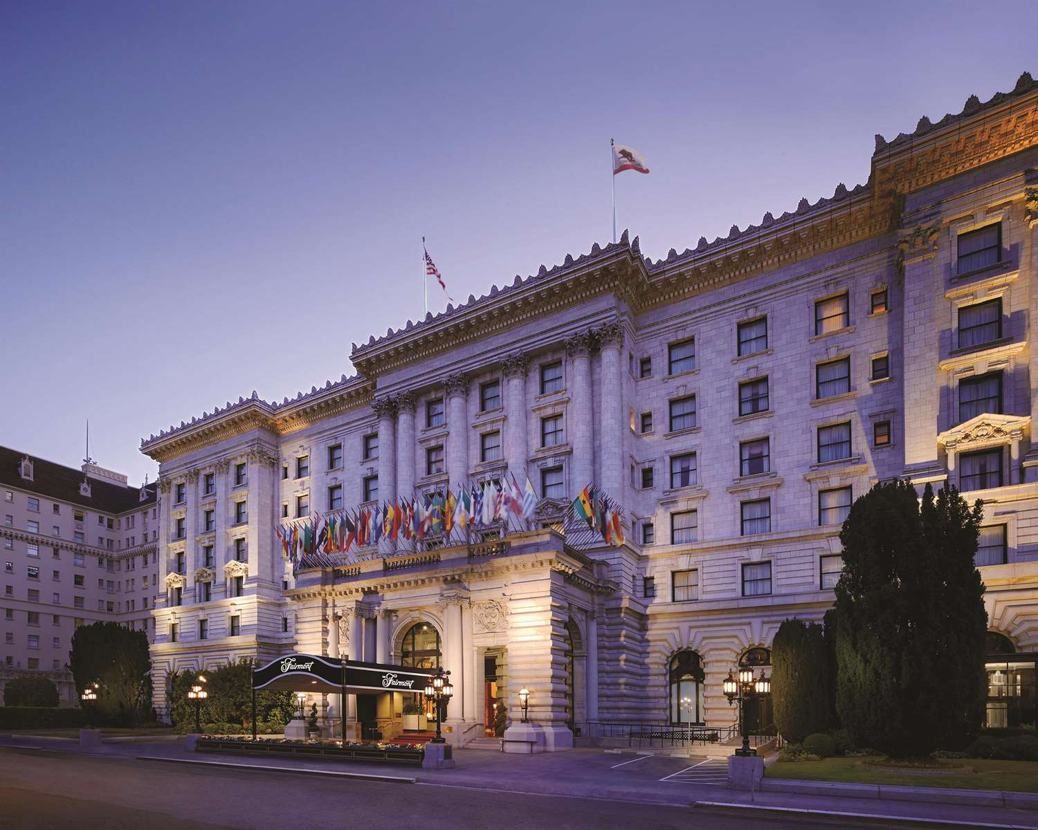 Exterior view - Fairmont Hotel San Francisco