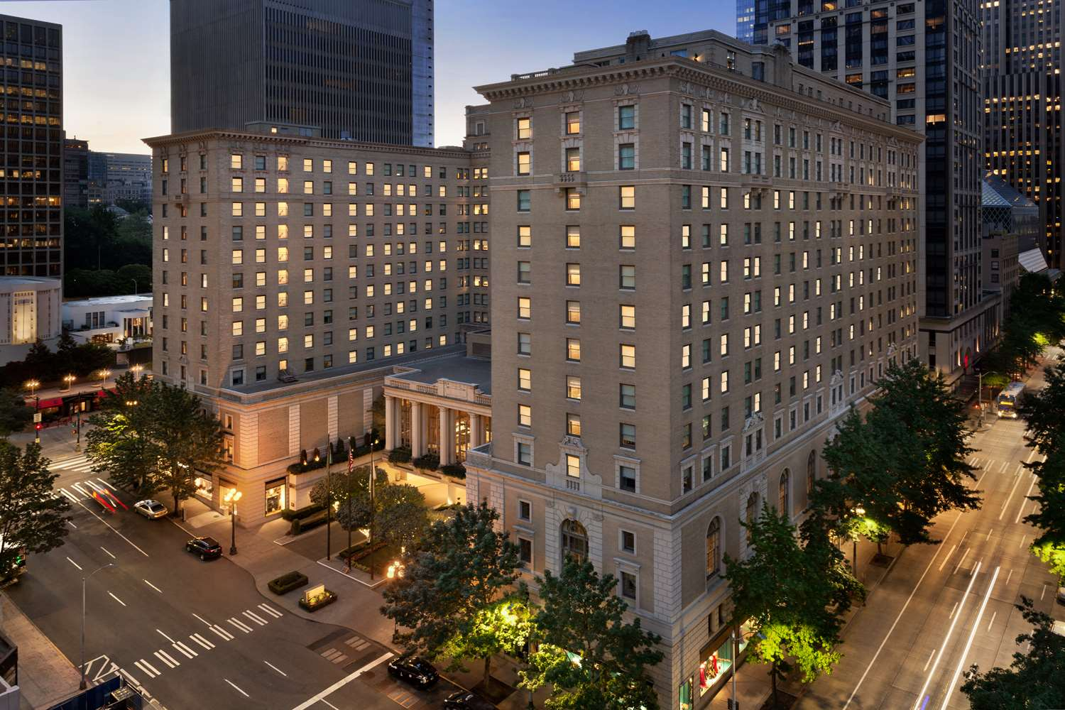 Exterior view - Fairmont Olympic Hotel Seattle