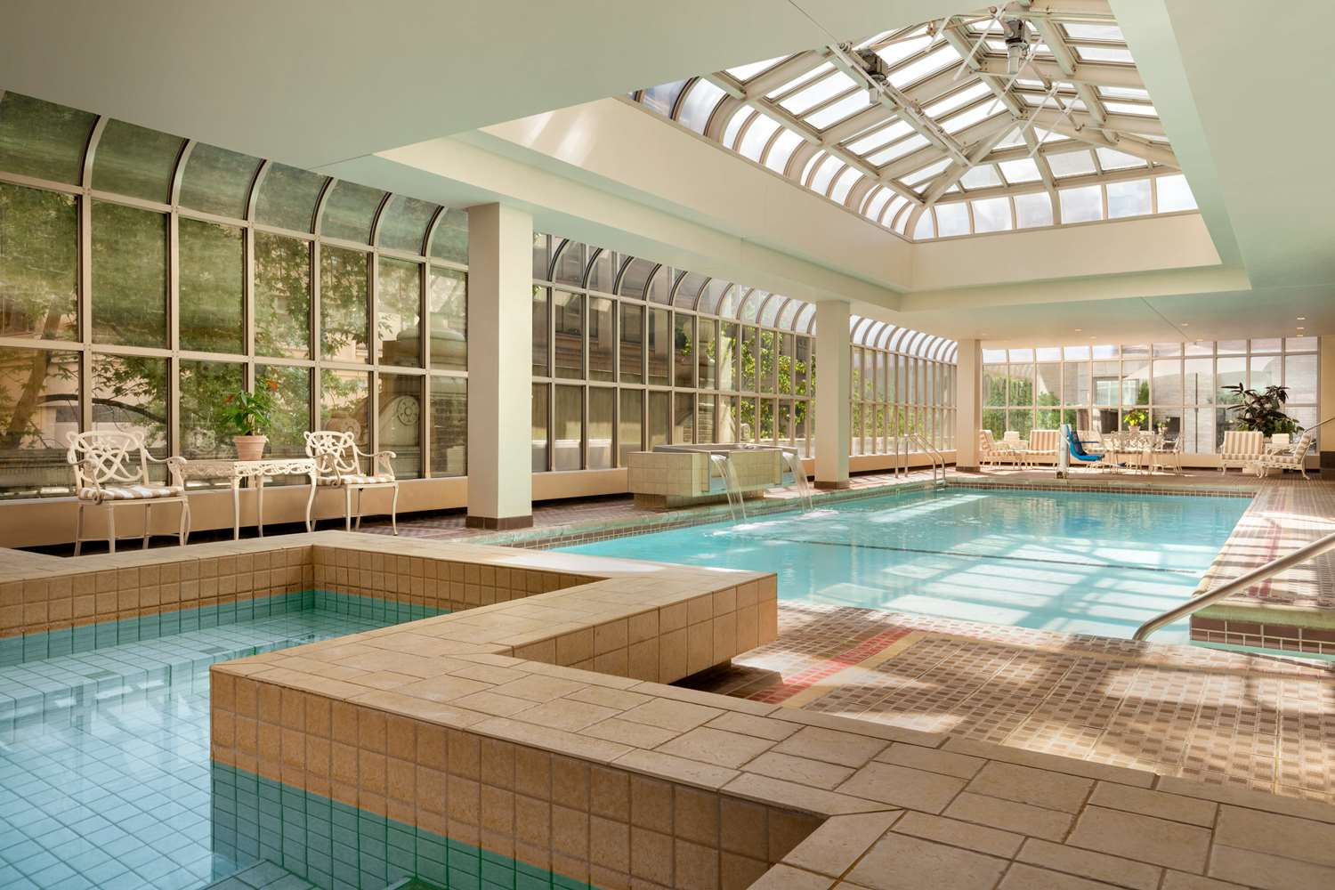 Pool - Fairmont Olympic Hotel Seattle