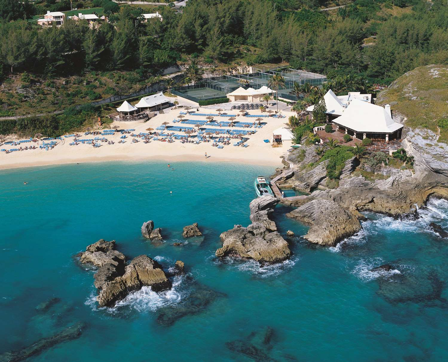 Ocean Club and Fairmont Beach Club