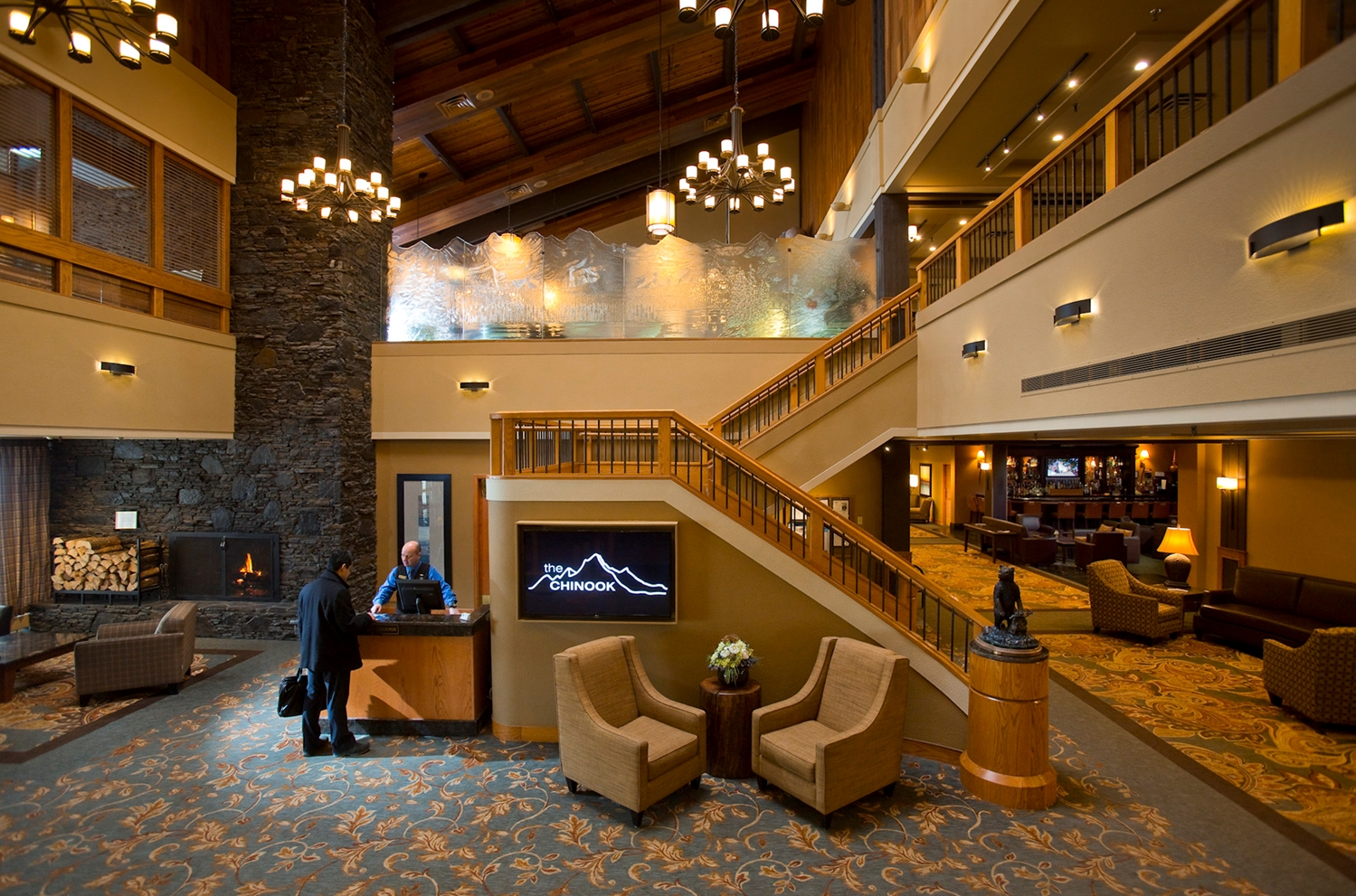 Lobby - Banff Park Lodge