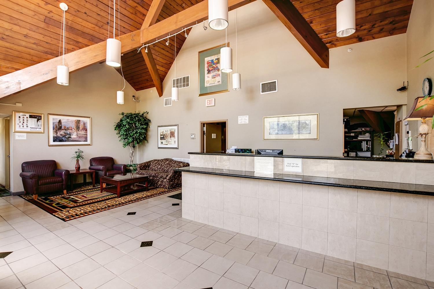 Lobby - Americas Best Value Inn Whippany