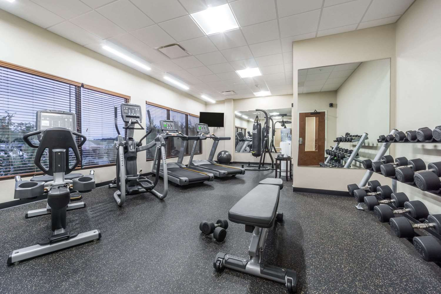 Fitness/ Exercise Room - Hawthorn Suites by Wyndham Triadelphia