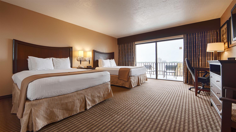 Guest Room Two Queen Beds