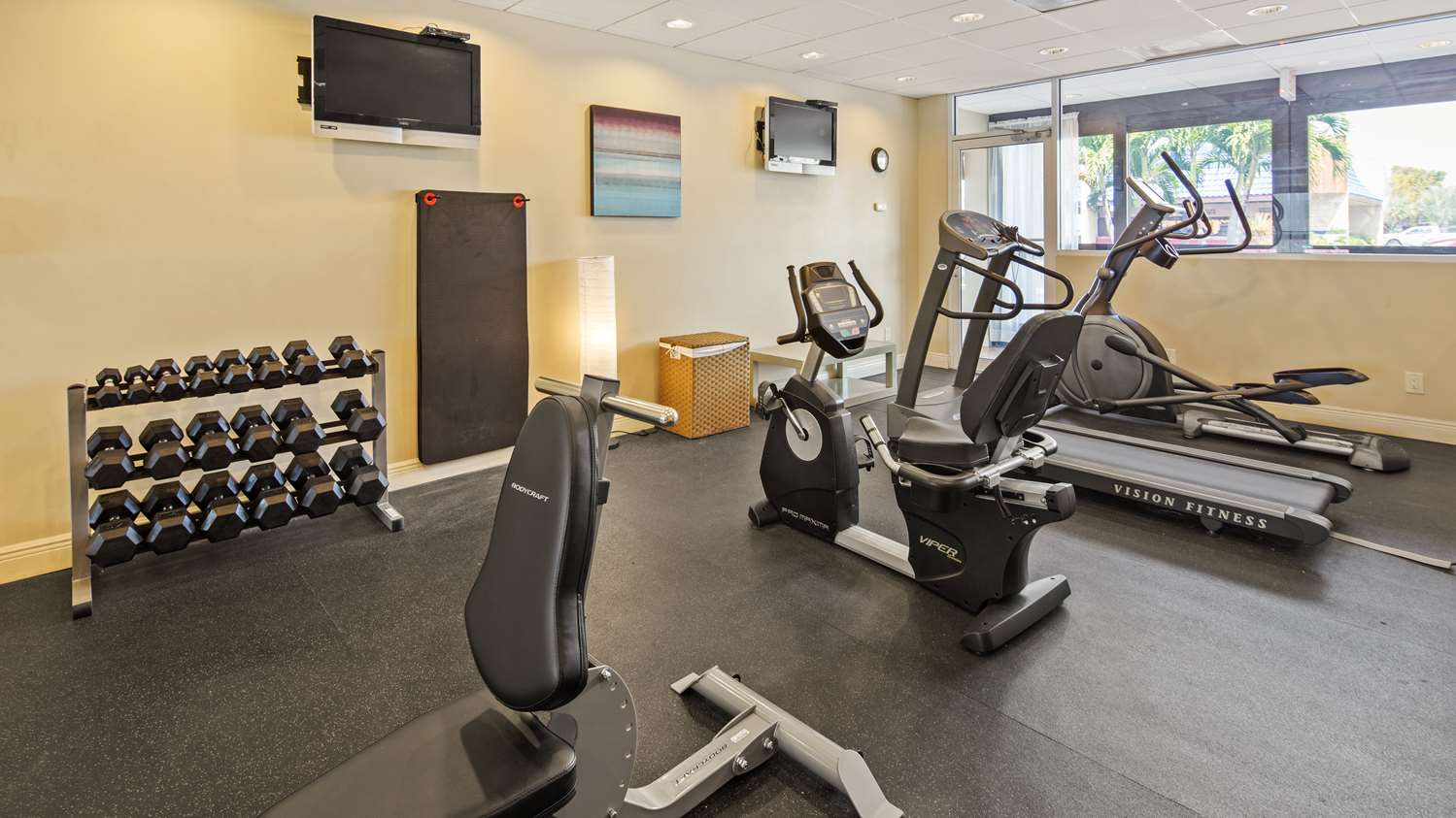 Fitness/ Exercise Room - Best Western North Fort Myers Waterfront Hotel