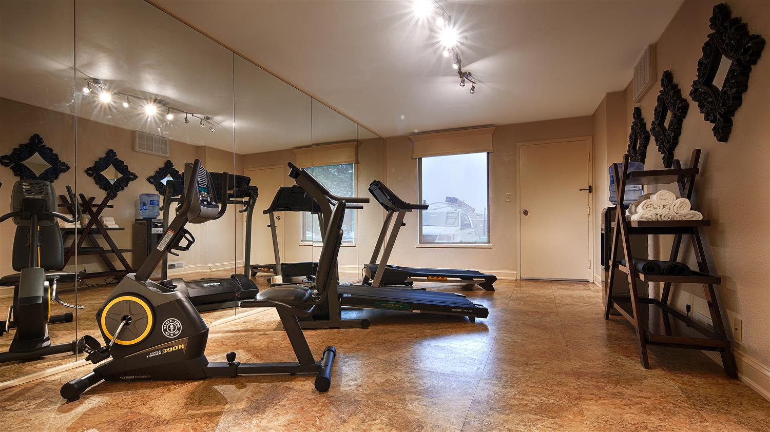 Fitness/ Exercise Room - Best Western Motel Salisbury