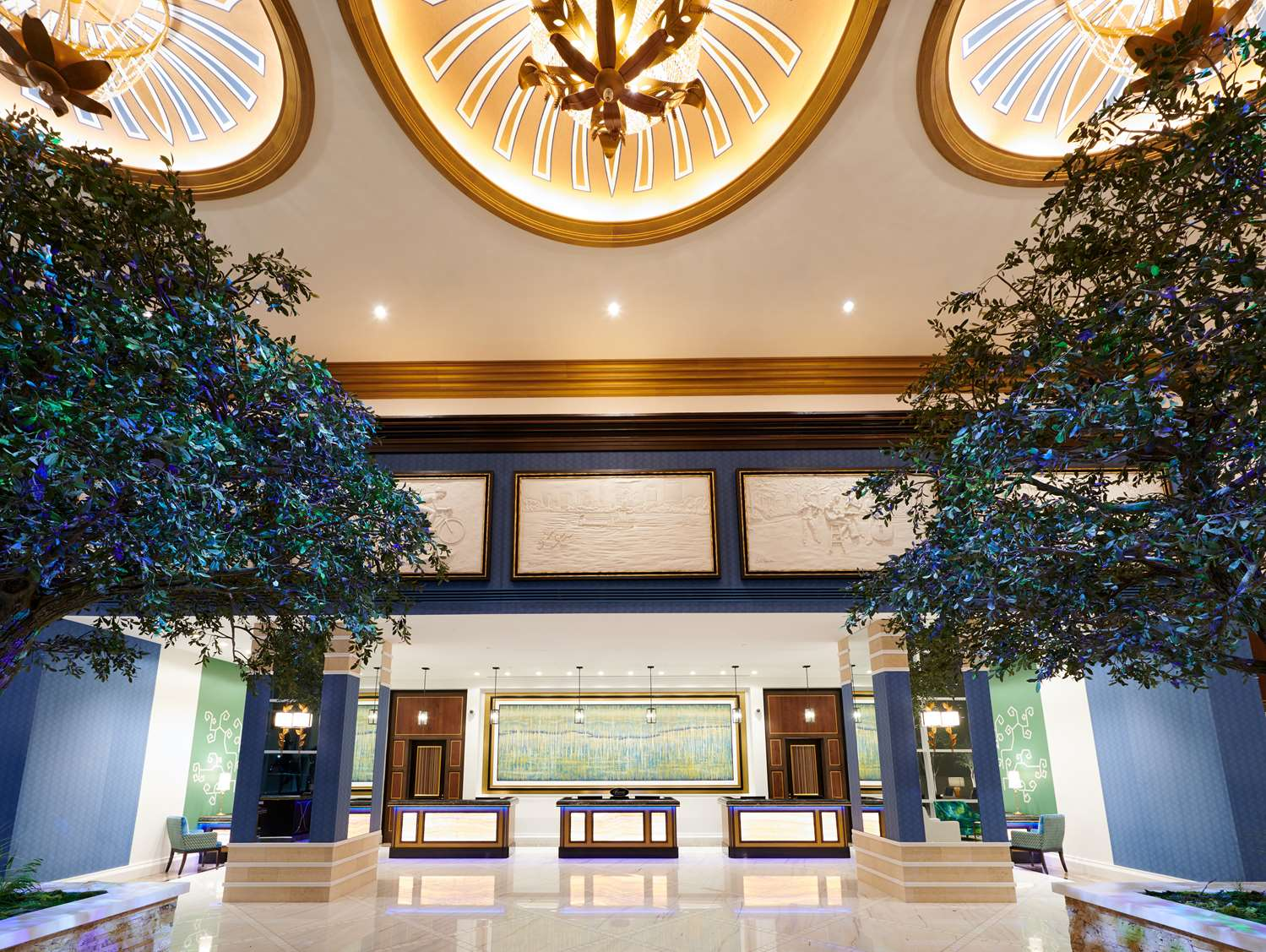 Lobby - Fairmont Hotel City Center Austin