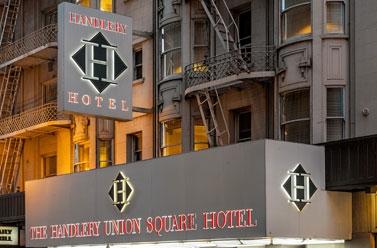 Exterior view - Handlery Hotel Union Square San Francisco