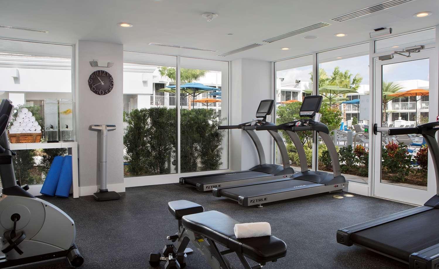 Fitness/ Exercise Room - B Resort & Spa Lake Buena Vista