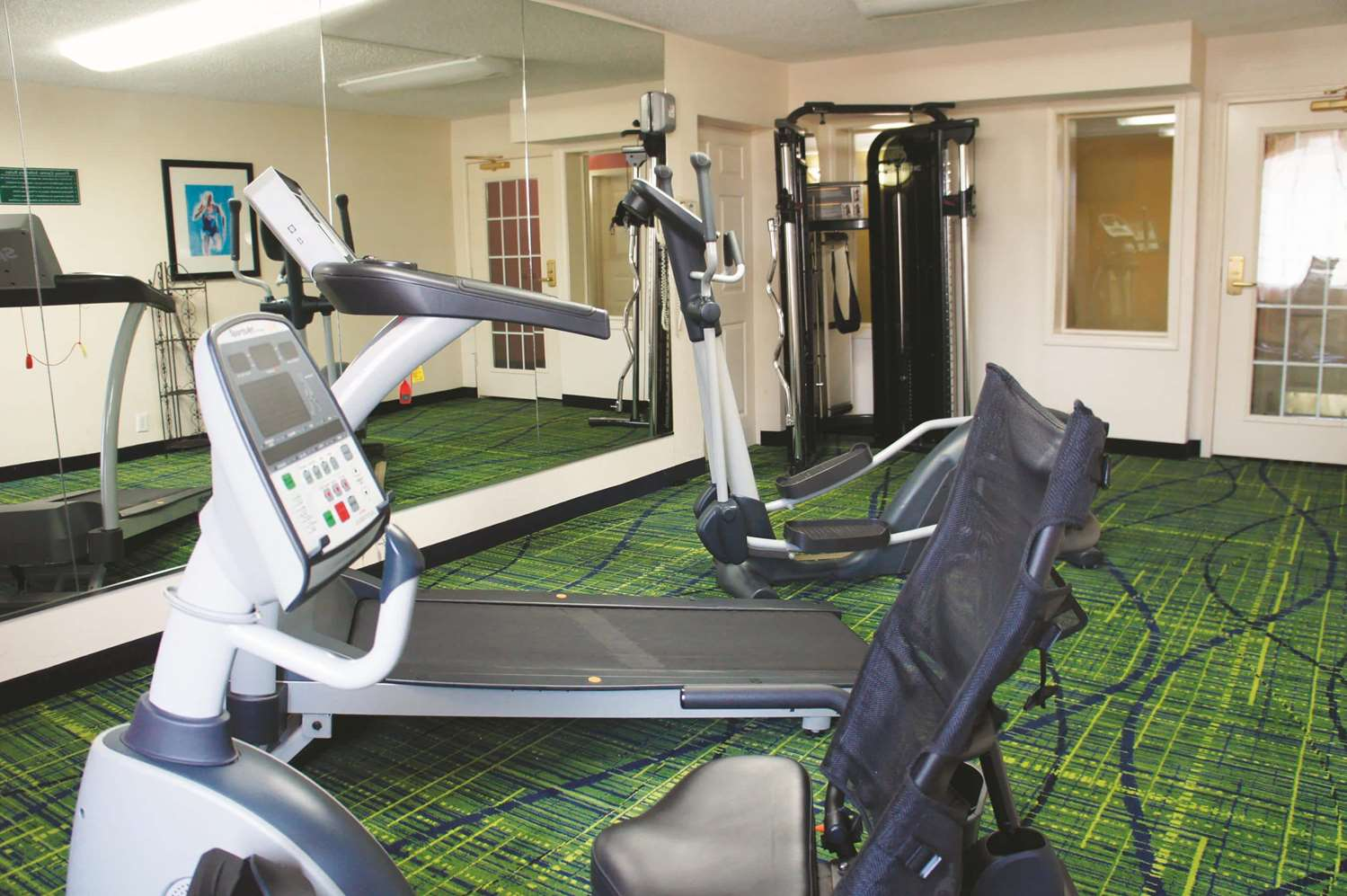 Fitness/ Exercise Room - La Quinta Inn & Suites Central Tulsa