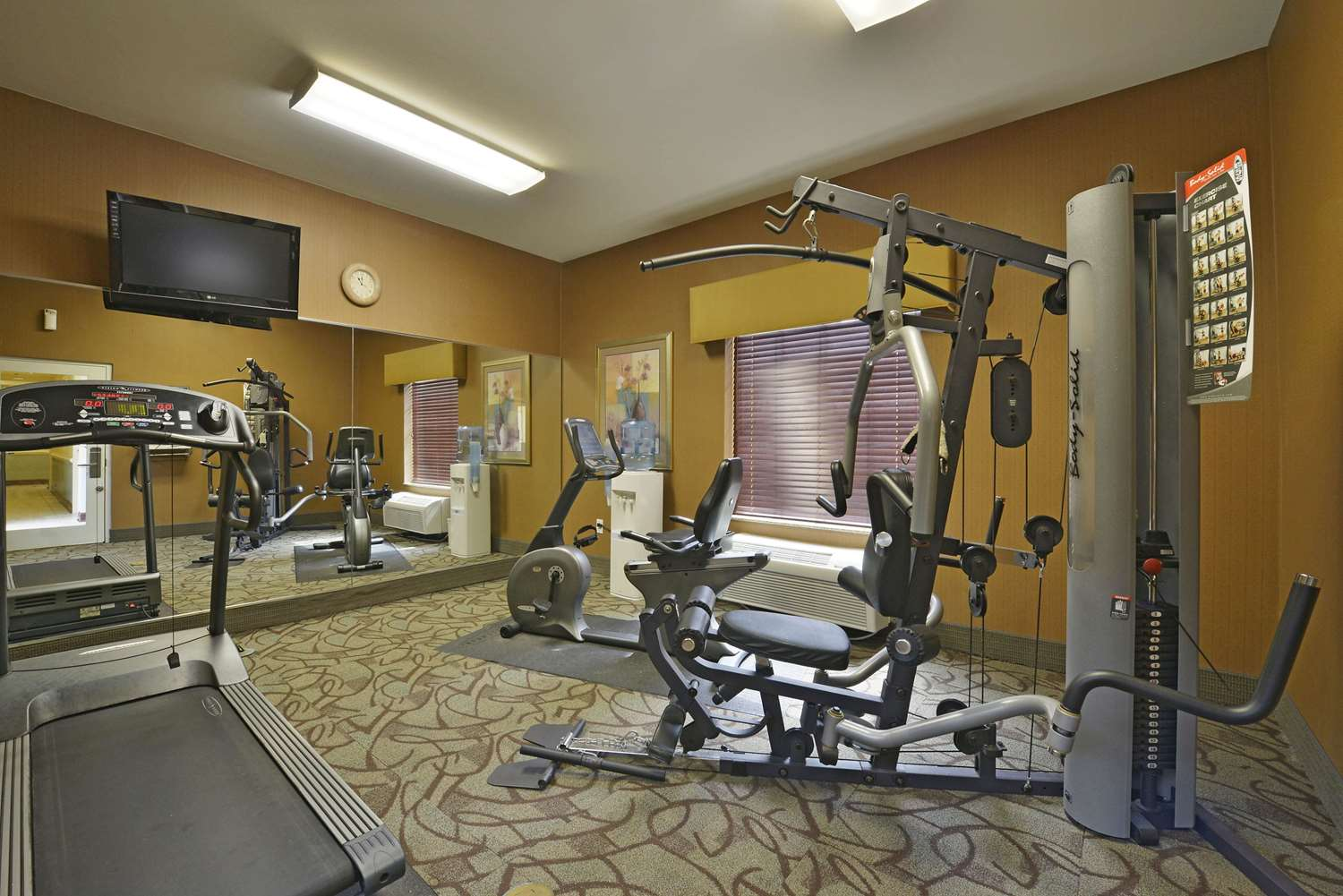 Fitness/ Exercise Room - La Quinta Inn & Suites Pooler